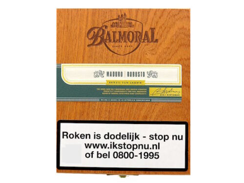 Balmoral Royal Selection Maduro Robusto Box