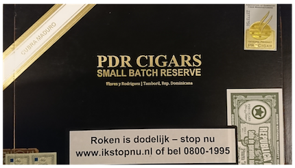 PDR Cigars Small Batch Reserve Maduro