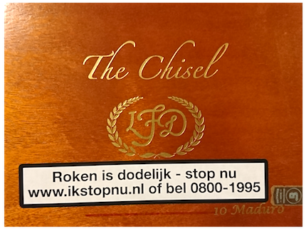 La Flor Dominicana Double Ligero The Chisel