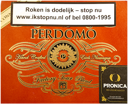 Perdomo Factory Tour Connecticut Robusto